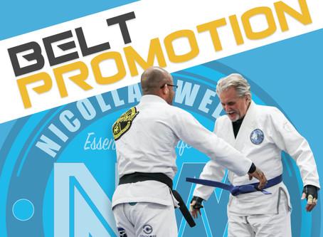 Overall Nicollas Welker Arauj0 Brazilian jiu-jitsu Belt Promotion.