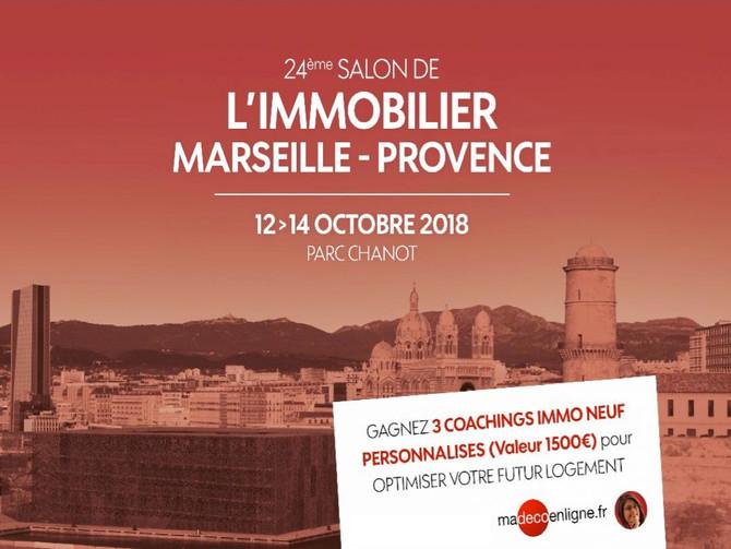 Accélérez et concrétisez vos projets au Salon de l'Immobilier Marseille-Provence