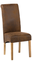 Chaise haute marron vieilli.png