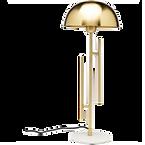 Lampe laiton marbre champignon.png
