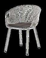Chaise métal filaire chromé.png