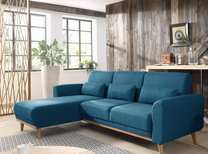 Soldes : 12 canapés bleu canard à adopter dans vos intérieurs !