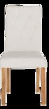 Chaise dossier haut beige face.png
