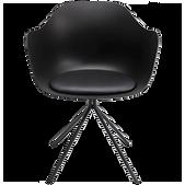 Chaise design noire.png