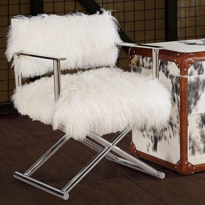 -75% pour ce fauteuil design et hollywoodien !