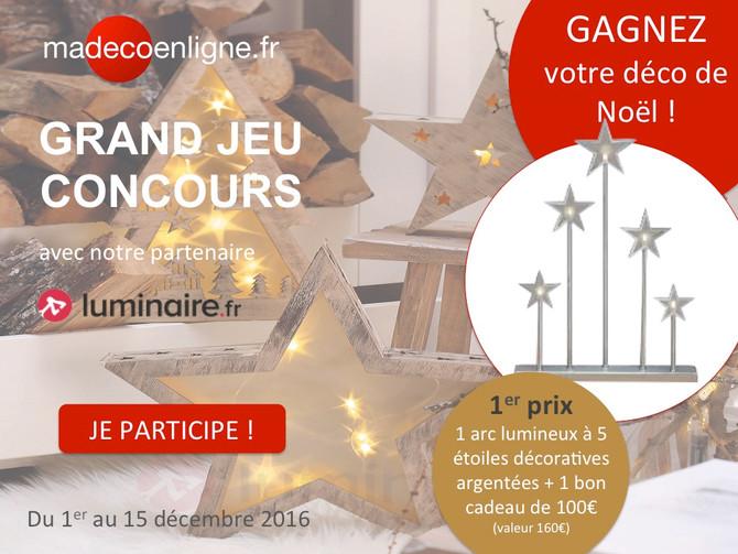 Jeu-concours : gagnez votre déco de Noël !