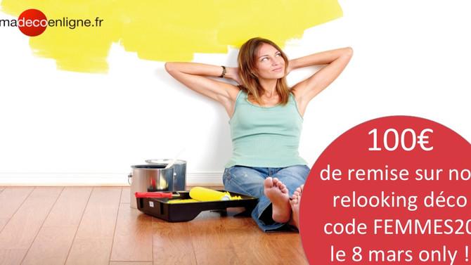 Women's Day : votre conjoint ne peut RIEN vous refuser aujourd'hui ! :-)