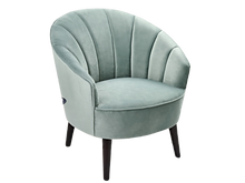 Fauteuil coquillage vert deau.png