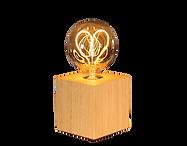 Lampe bois carrée ampoule.png