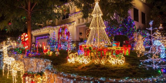 Luminaires de Noël pour illuminer vos extérieurs