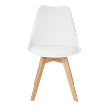 Chaise scandinave blanche bois face.png