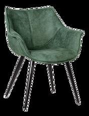 Chaise accoudoirs vert kaki.png