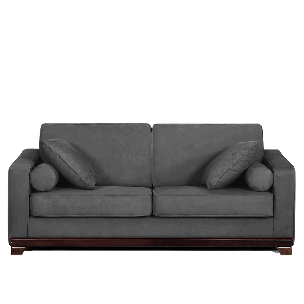 Canapé convertible gris anthracite