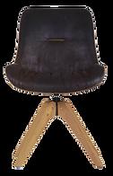 Chaise pivotante noire pieds bois.png