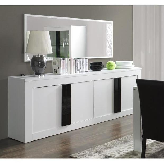 5 id es pour habiller un mur au dessus d 39 un buffet une console ou une commode architecture et. Black Bedroom Furniture Sets. Home Design Ideas