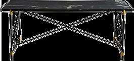 Table repas marbre noir.png