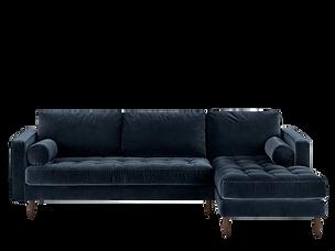 Canapé d'angle velours bleu marine.png