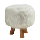 pouf-enfant-contemporain-fourrure-blanc-
