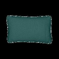 Coussin rectangle vert tricoté.png