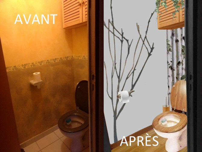 Un Relooking Express pour transformer vos toilettes !
