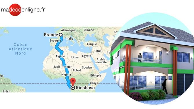 Nouveau projet : construction d'une maison neuve à ...Kinshasa (RD Congo) !  (Part 1)