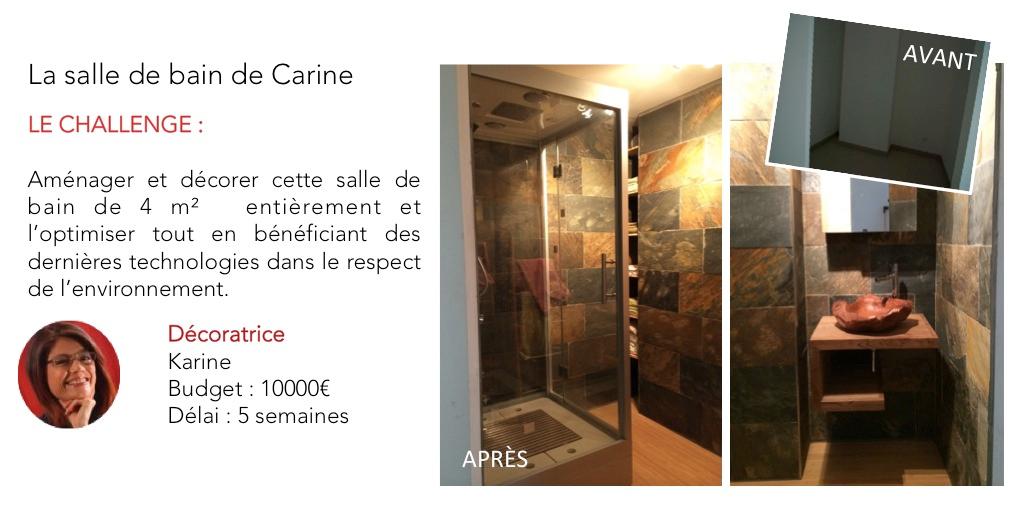 Salle de bain nature et zen