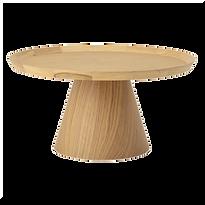 Table basse ronde bois japonisant.png