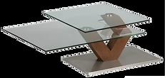 Table basse verre 2 plateaux carrés.png