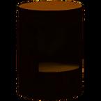Chevet baril noir bois (1).png