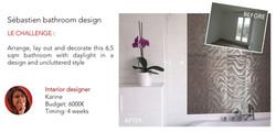 Sebastien's bathroom design