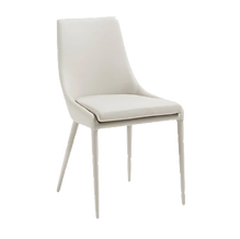Chaise blanche simili cuir.png