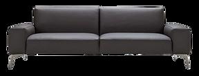 Canapé design cuir bleu nuit.png