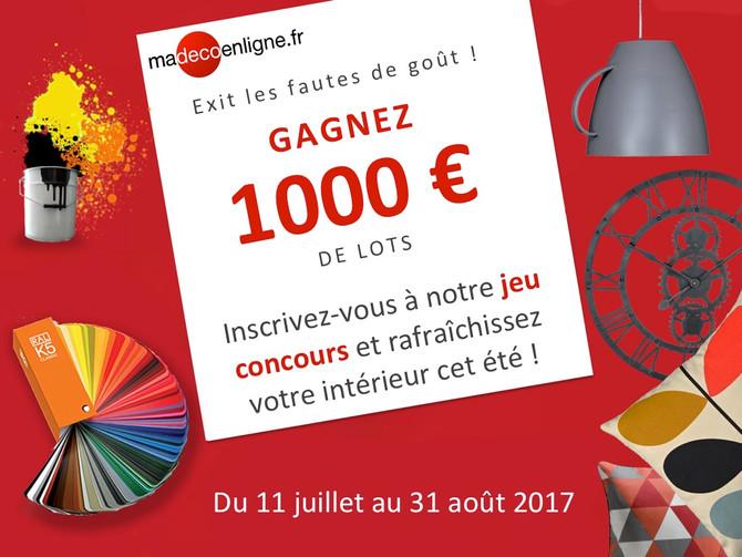 Gagnez plus de 1000€ pour relooker votre intérieur !