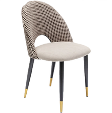 Chaise beige art deco face (1).png