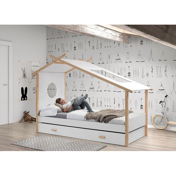 """8 lits cabanes pour que votre enfant grandisse bien """"cocooné"""""""