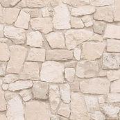 Papier peint imitation pierre naturelle.