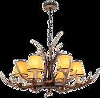 Lustre suspension bois de cerf.png