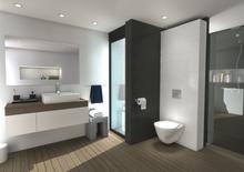 Rénovation : 2 astuces pour gagner de la place dans la salle de bain et les toilettes