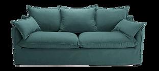 Canapé tissu vert coussins.png