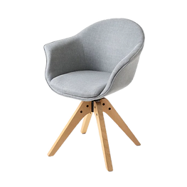 Chaise scandinave vintage grise.png