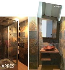 Avant/Après : une salle de bain nature, zen et écologique !