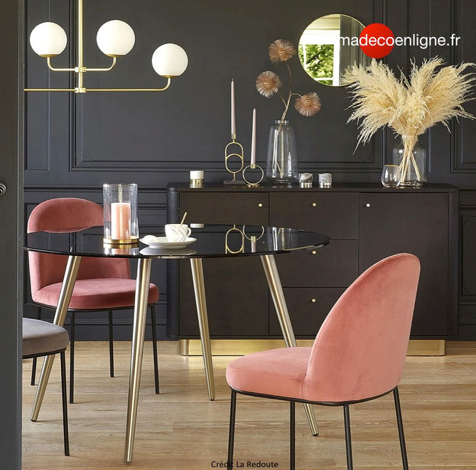 Et si vous optiez pour un look art déco chic pour votre salle à manger ?