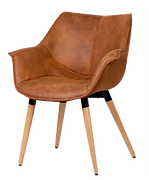 Chaise accoudoirs cognac.png