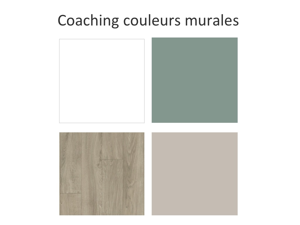 Coaching couleurs murales