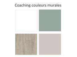 Coaching couleurs murales