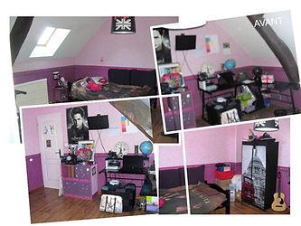 Décoration chambre photo chambre vide avant