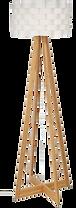 Lampadaire bois blanc.png