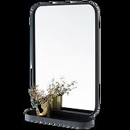 Miroir étagère métal.png