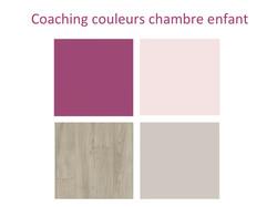 Coaching couleur chambre enfant