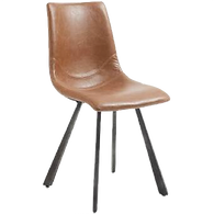 Chaise cuir marron.png
